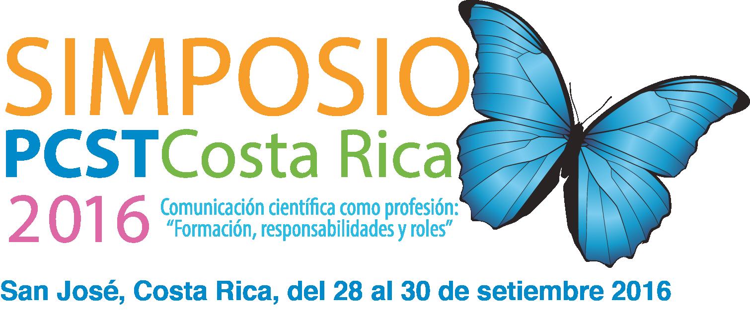 Simposio PCST Costa Rica logo