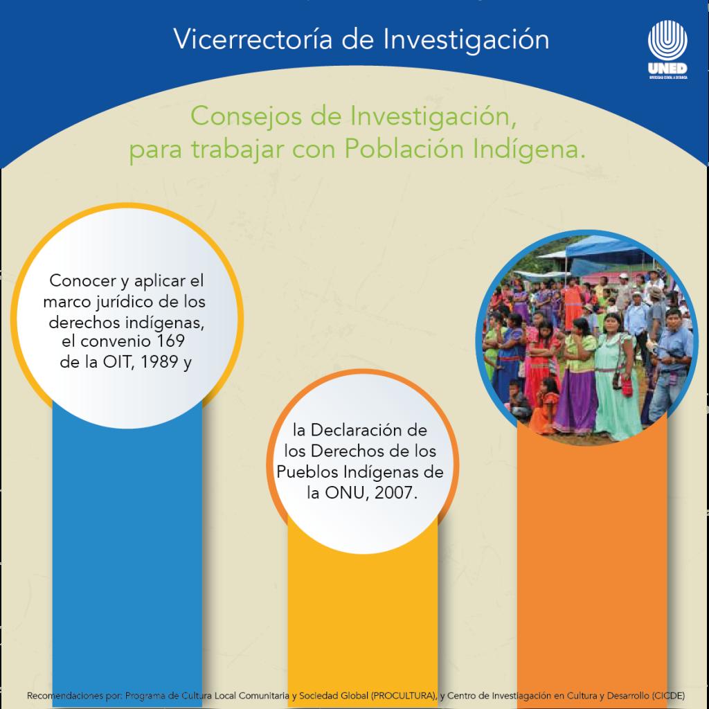 Consejos de investigación para trabajar con población  indígena