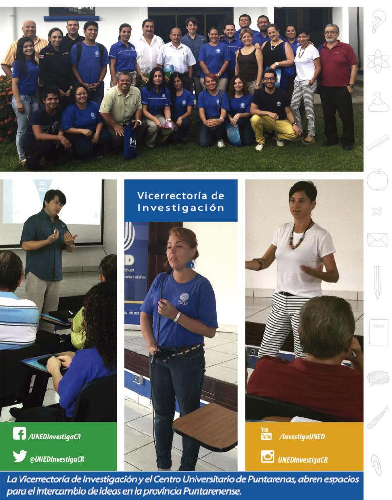 Encuentro de investigación en Puntarenas